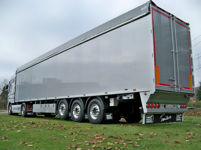 High Sales Of Innovative Moving Floor Trailers Onc
