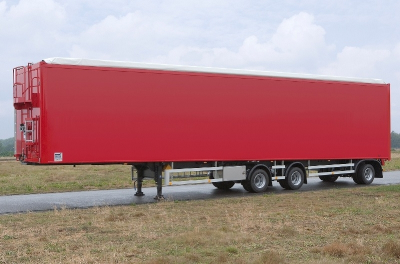 Knapen Trailers Delivers Moving Floor Trailer Of 1