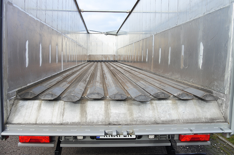 Knapen Trailer With Steel Keith 174 V 9 Walking Floo